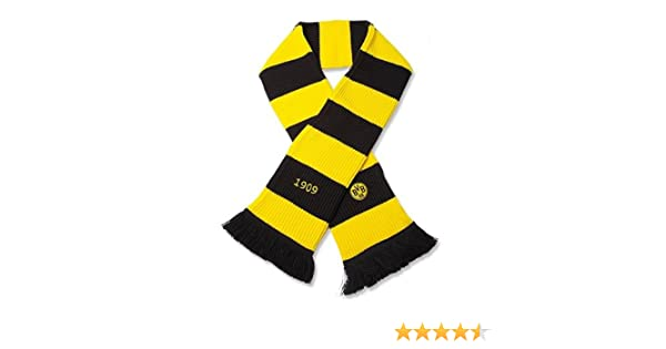Winterschal BVB Borussia Dortmund mit Aufschrift BORUSSIA 100/% Acryl