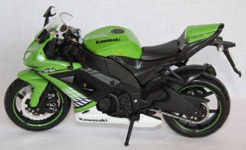Motorrad Modell Maisto 1:12 Kawasaki Ninja ZX-10 R grün