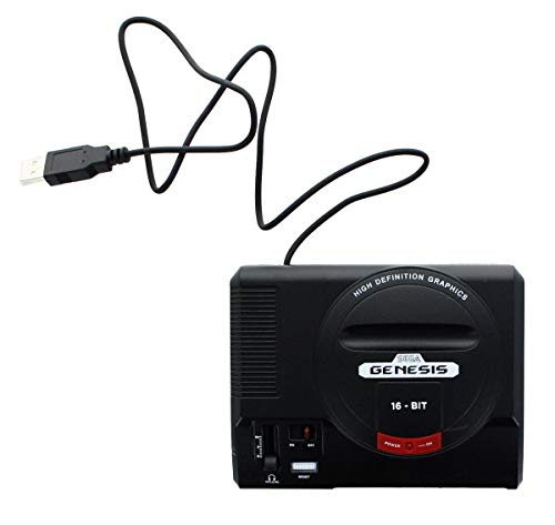Sega Genesis 16-Bit Mini Classic Game Console USB Hub Genesis Handy