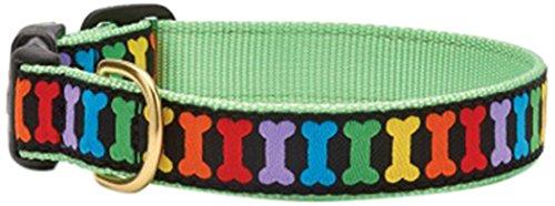 Up Country RAI-C-XS Rainbones Hundehalsband, Schmal 5/8