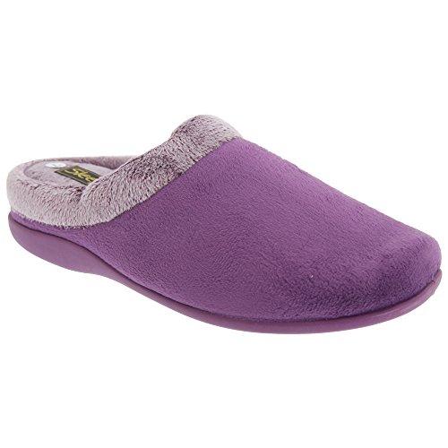 Sleepers Glenys - Pantofole morbide da donna Viola