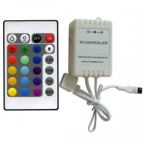 CONTROLLER CON TELECOMANDO PER STRISCE LED RGB