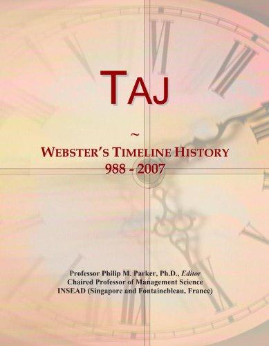 taj-websters-timeline-history-988-2007