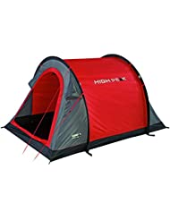 High Peak Stella 2 - Tienda de campaña instantánea, color rojo, talla STANDARD