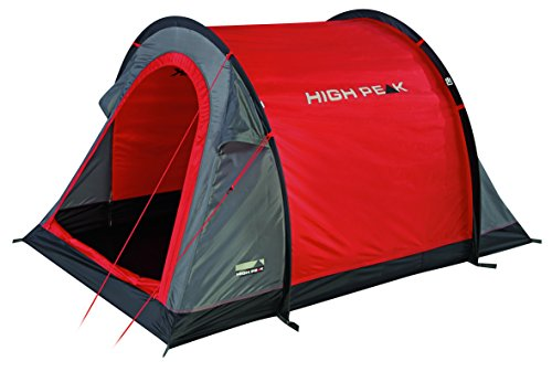 High Peak Pop Up Zelt Stella 2, Rot/Grau/Schwarz, 10109