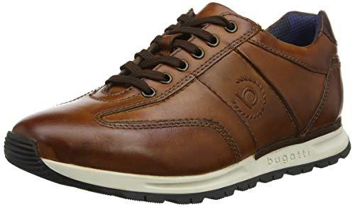 bugatti Herren 311819021100 Sneaker, Braun Cognac 6300, 43 EU