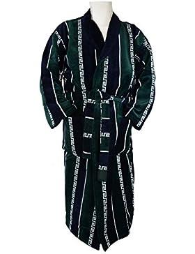 ilkadim Albornoz, bata para hombre con un precioso rayas y Versace Diseño (verde azul blanco), tamaño M y TOP...