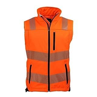 ASATEX Prevent Trendline Warnschutzweste PTW-SW, orange/schwarz, Gr. 2XL