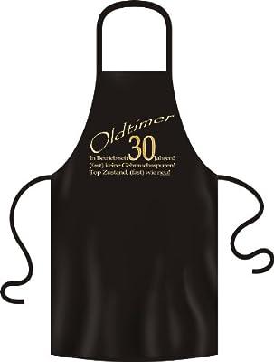 Grill-/Kochschürze: Geburtstag Oldtimer seit 30 Jahren Für die neue Grillsaison, ideal als Geburtstags-Geschenk mit Jahreszahl