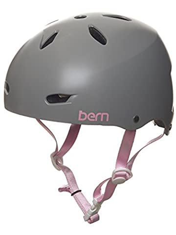 Casque Vtt Femme Bern 2017 Brighton Thin Shell Eps Satin Gris (L , Gris)