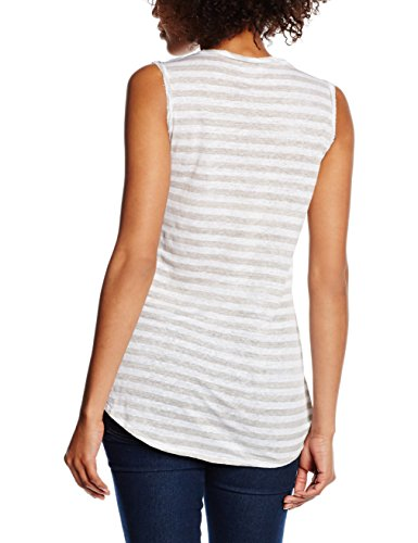 Blaumax Damen T-Shirt Riga Stripe Mehrfarbig (beige stripe 5004)