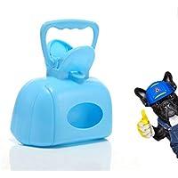 Nueva Mascota Portátil Pooper Scooper - Toallas De Papel Portátiles Pooper Scooper Mejor Para Perros Medianos Grandes Pequeños Y Gatos Cuchara De Residuos Para Mascotas De Servicio Pesado 3 Colores Para Caminar Y Jugar,Blue