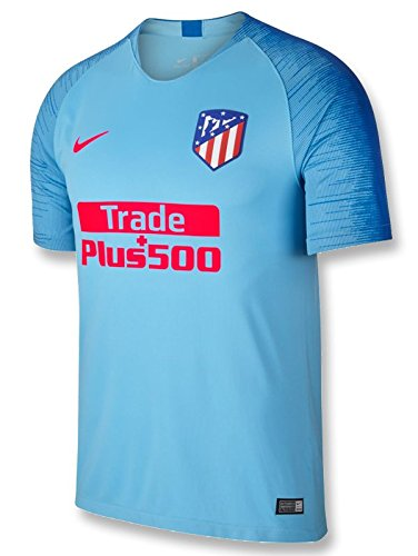 Nike - Atletico Madrid 2ª Camiseta 18/19 Color: Celeste Talla: M