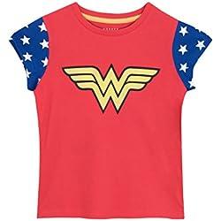 Wonder Woman - Camiseta para niñas - Mujer Maravilla - 8 - 9 Años