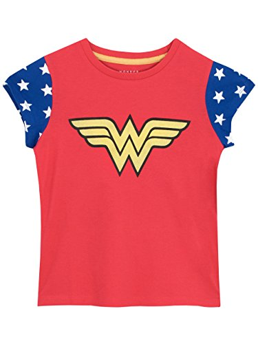 Girls Wonder Woman T-Shirt - Ages 3 to 10 Years