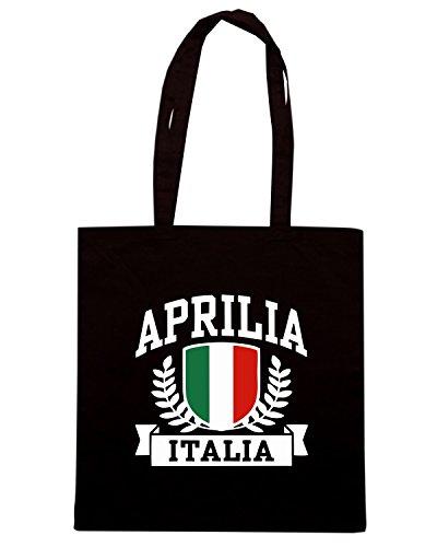 T-Shirtshock - Borsa Shopping TSTEM0136 aprilia italia Nero