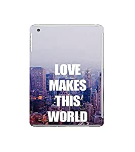 Fuson Designer Back Case Cover for Apple iPad Mini Wifi :: Apple iPad Mini Wifi + Cellular (7.9 Inches) (Love Ishq Kaadal Infactuation Compassion)