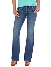 c315a7d2 Wrangler Women's Retro Sadie Low Rise Stretch Boot Cut Jean, Morgan, 9X34