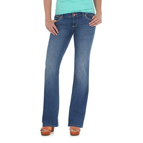 Wrangler Damen Retro Sadie Low Rise Stretch Boot Cut Jeans, Morgan, 3W x 32L - Wrangler Low Rise