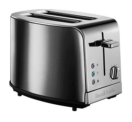 21782-56 Jewels Moonstone Toaster, Lift and Look Funktion, 6 einstellbare Bräunungsstufen, 2 extra breite Toastschlitze, Hebefunktion, grau