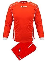 e92b35d7aa59b5 Mini elettrodomestici M Kit Zeus Sparta Bianco-Royal Completino Completo  Calcio Uomo Donna Calcetto Muta Torneo Scuola Sport