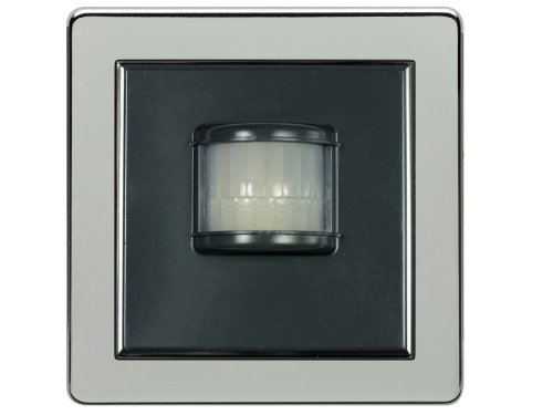 LightwaveRF Bewegungsmelder, PIR-Sensor, kabellos chrome