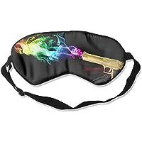 Eye Mask Eyeshade Guns Shot Sleeping Mask Blindfold Eyepatch Adjustable Head Strap preisvergleich bei billige-tabletten.eu