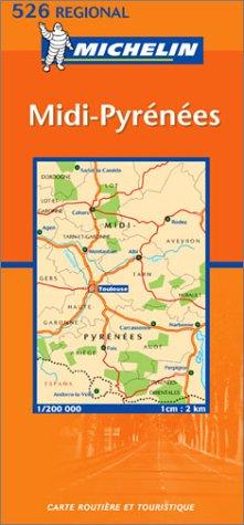 Carte routière : Midi-Pyrénées, N° 11526