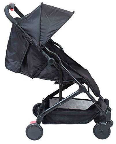Poussette bébé compacte naissance YUKO (Noir) image0