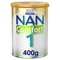 Nestlé NAN COMFORT 1, From birth to 6 months, Starter Infant Formula for Colic, Gas, and Constipation, Fortified with Iron 400g