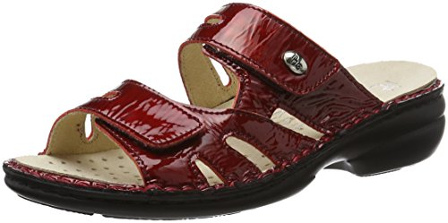 Hans Herrmann Collection Hhc, sandales femme Rouge