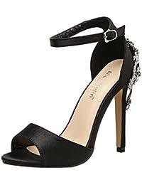 CLEARANCE SALE! MEIbax Sommer Dame Fashion Wedge High Heels Sandalen Elegante Nieten Frauen Heels Schuhe