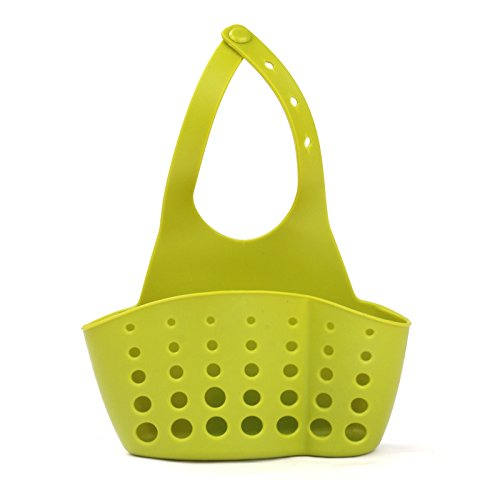 plsonk button-type hängende Aufbewahrung Korb Küche Spüle Badezimmer Aufbewahrung bag-green (Dekorative Speicher-körbe)
