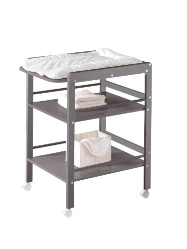 Schardt Small changing table nordic grey - changing tables (Grey)