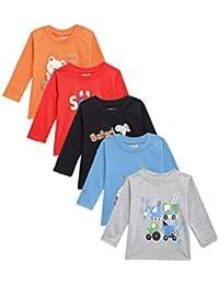 Kuchipoo Boys' T-Shirt (Pack of 5)