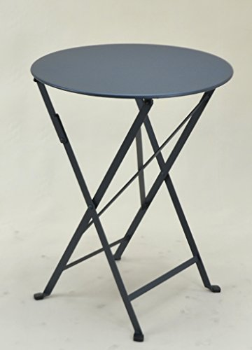 "Price comparison product image Metal Folding Table, a professional home; + Cher The but a cost-effective +. Use as Table, MADE IN EUROPE, for Professional Use Very Rude. It allows you to use for many years Fun Coated Exterior. Good Times a Epoxy Paint For Interior And Is Also Can Be Used Outdoors. A Table ""for Comfort. Anthracite Grey"