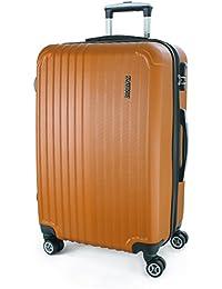 XAVION Hartschalen-Kofferset, Trolley, Koffer, Reisekoffer, 78/67/57 cm, 120/80/45L, 16 Farben, 4 Rollen, Einzeln oder als Sparset