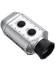 L-MEIQUN,Alcance de Golf Telémetro Digital Entrenamiento Telescopio óptico Medidor de Distancia(Color:Platino)
