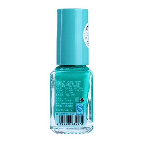 Vernis à ongles, Tonsee Fluorescent Neon Gel lumineux Vernis à ongles pour Glow in Dark, 6#