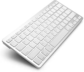 GIA DIGITAL™ Ultrathin Wireless Bluetooth Keyboard for iPad/iMac/iPhone/Android Phones/Samsung Galaxy Tab and Other Tablets