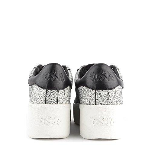 Ash Cult Baskets Gris Femme Noir/Blanc