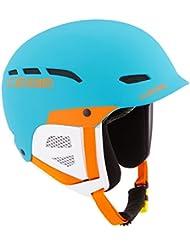 Cébé–Gafas de esquí casco Dusk Junior blue/naranja, 49–53cm, cbh193