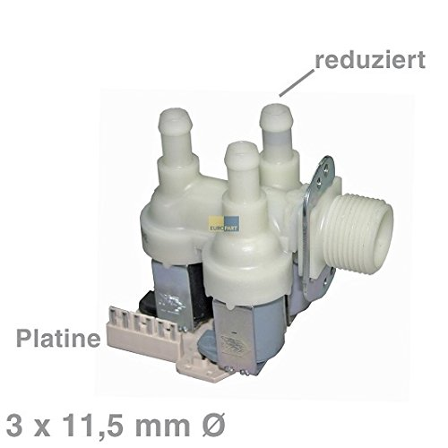 Ventil Magnetventil 3-fach 90° 11,5mmØ 4035200 Miele Waschmaschine