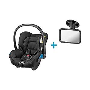 Maxi-Cosi Citi Babyschale, in Kombination mit allen Maxi-Cosi und Quinny-Kinderwagen und Buggys flexibel einsetzbar, Leichtgewicht und für das Flugzeug zugelassen, Gruppe 0+, bis 13 kgz, schwarz