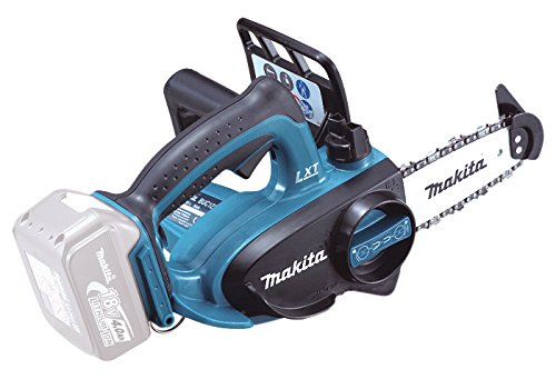 Makita DUC122Z Top Handle Akku-Kettensäge 18 Volt , Schwarz/ Blau