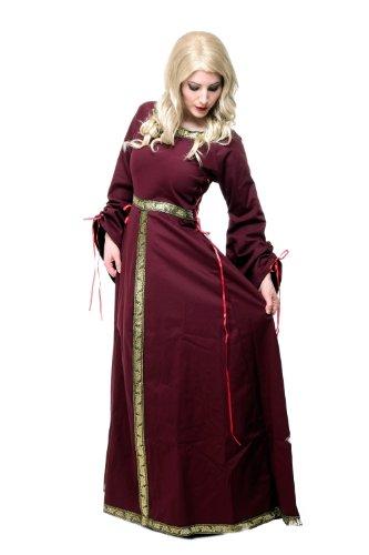 Kostüm Damen Damenkostüm Kleid Mittelalter Romanik Gotik Gothic Burgfräulein L054 Gr. 46 / L - 4