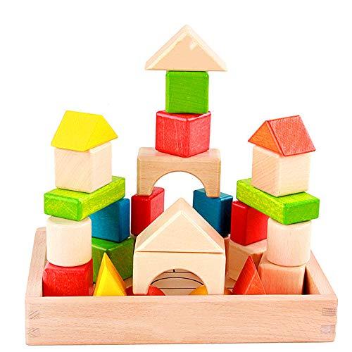 28-72 bloques de construcción de color de forma cognitiva...