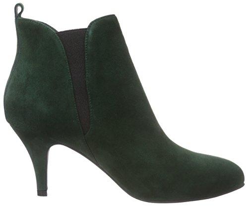 Sofie Schnoor Suede Boot W. Elastic, Bottes Classics courtes, non doublées femme Vert - Vert
