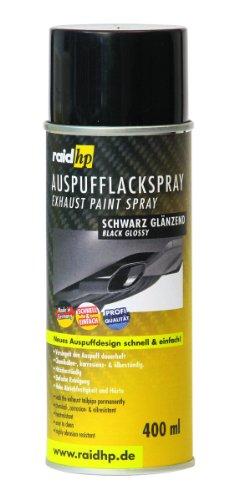 Preisvergleich Produktbild Raid HP 351000 Auspuff Lackspray, 400 ml, Anzahl 1, Glänzend Schwarz