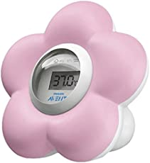 Philips Avent SCH550/21 Thermometer wh/pi, rosa/weiß